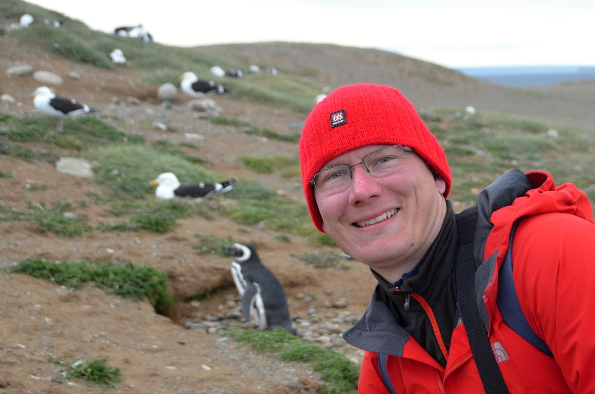 Moje maličkost a tučňáci