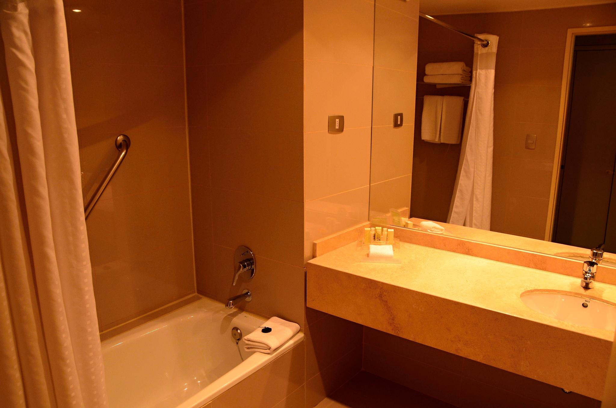 Luxusní pokoj v Holiday Inn v Santiagu