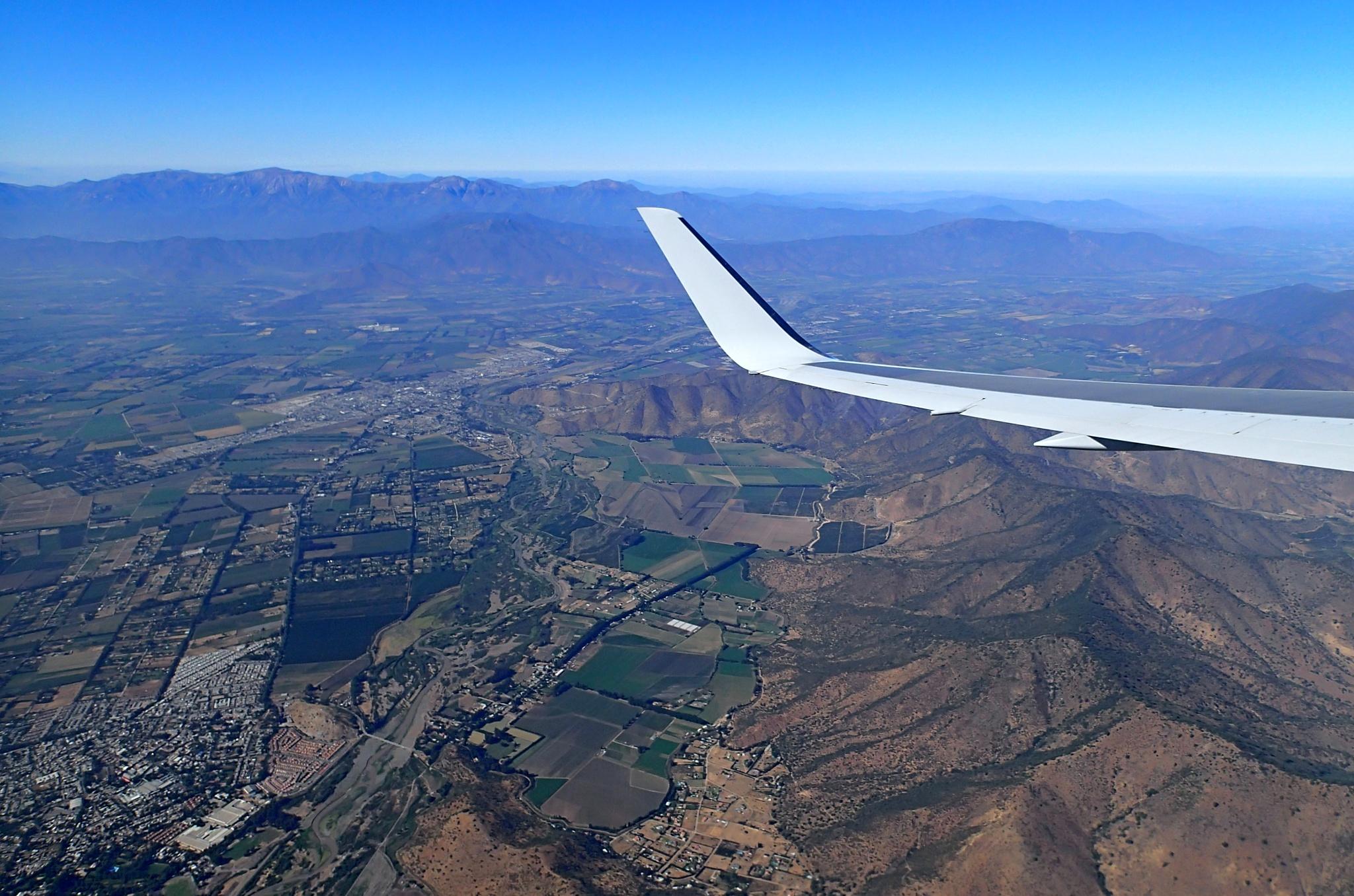 Hory kolem Santiaga