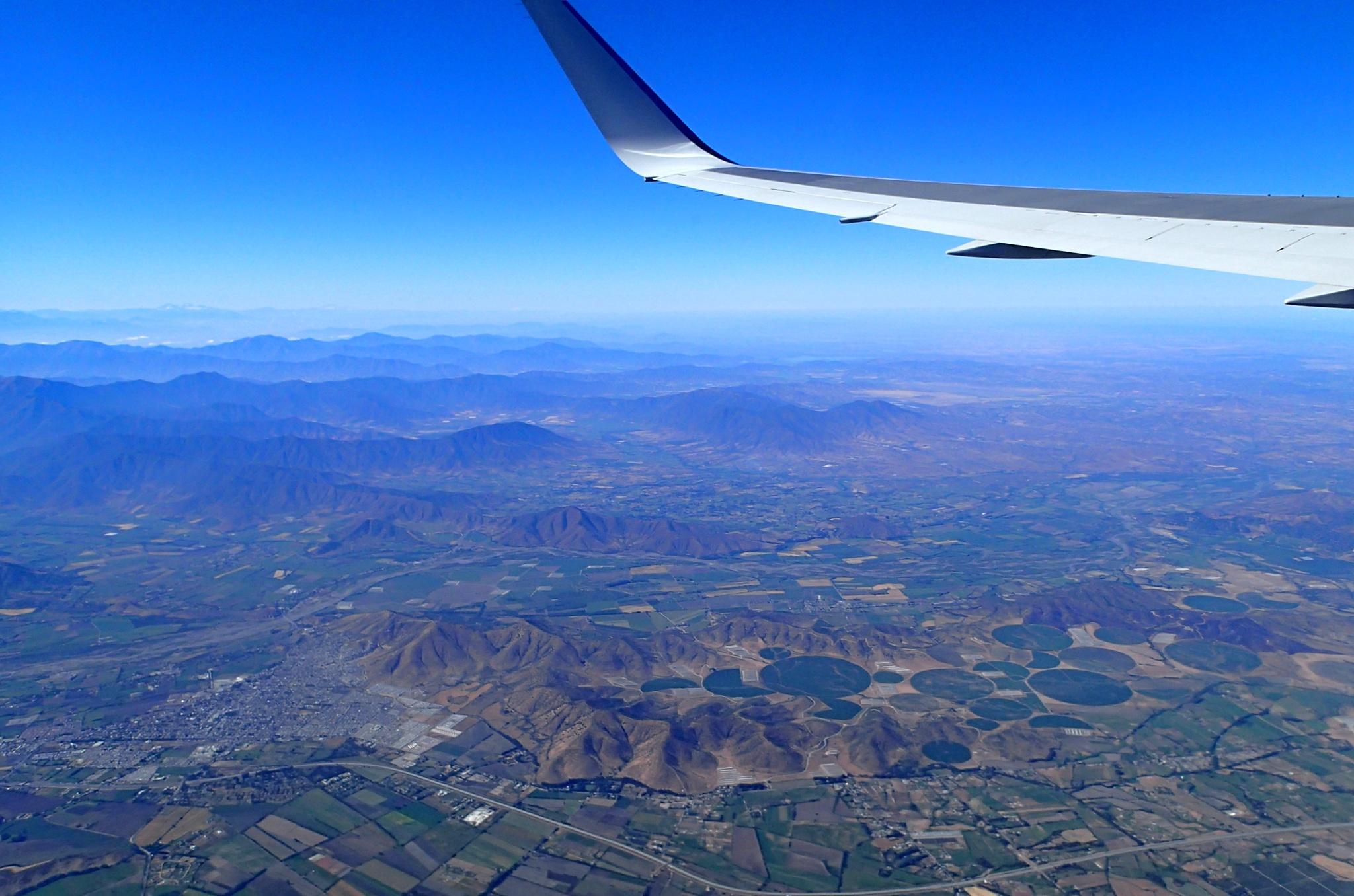 Okolí města Santiago de Chile