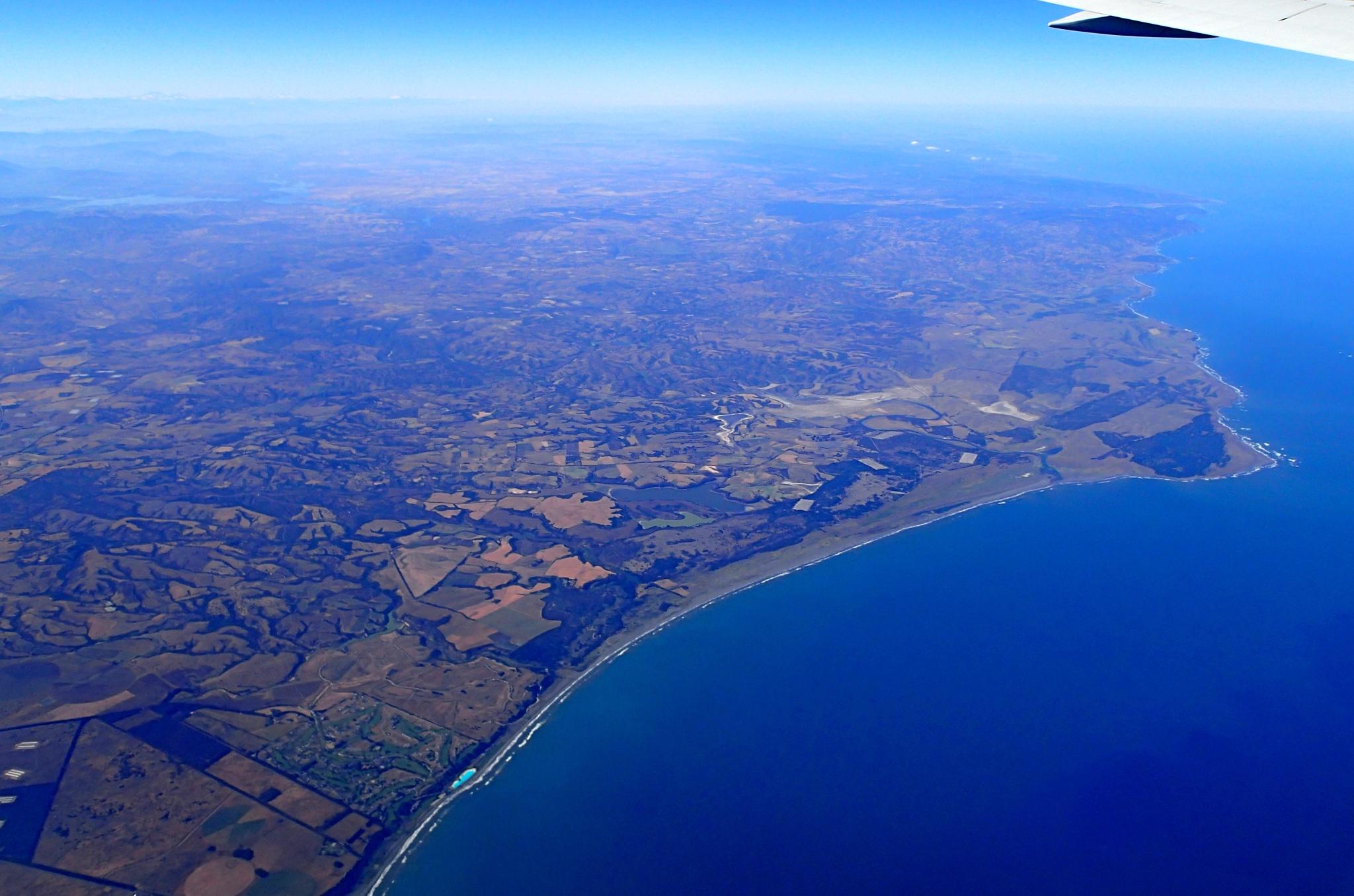 Poslední pohled na pobřeží Chile