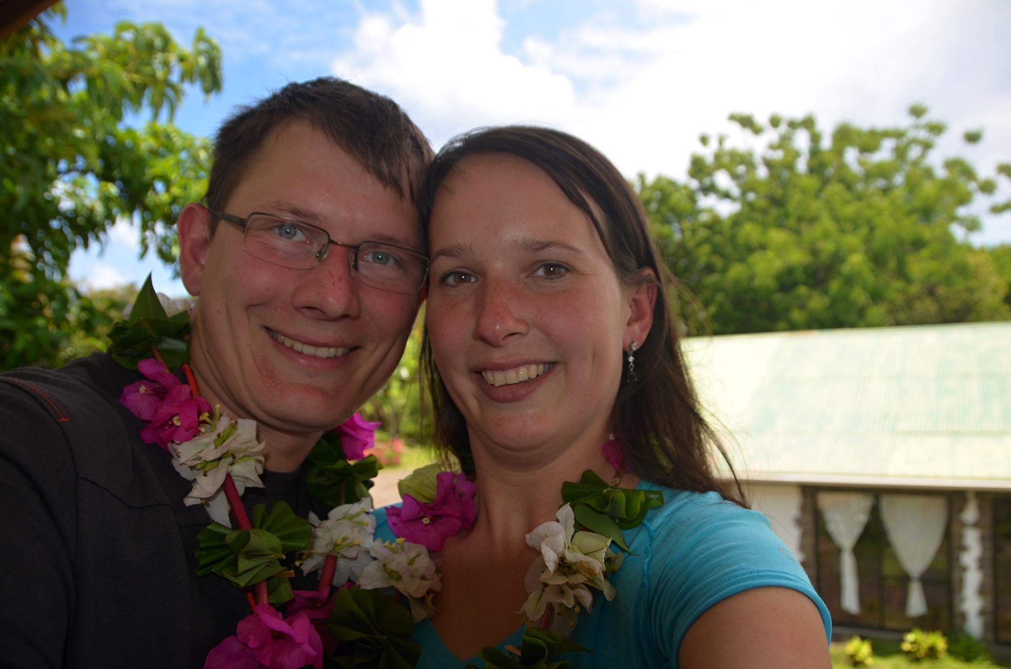 První společné foto na Velikonočním ostrově