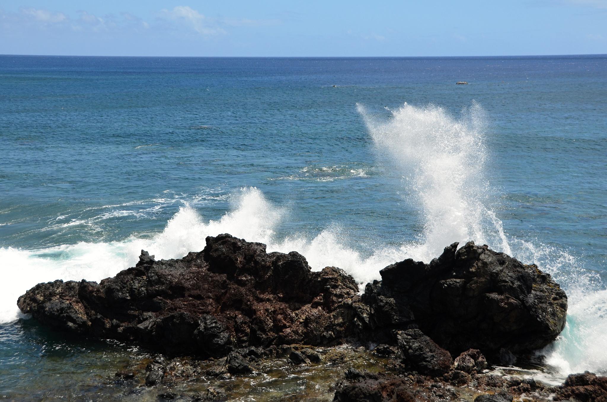 Silné a vysoké vlny