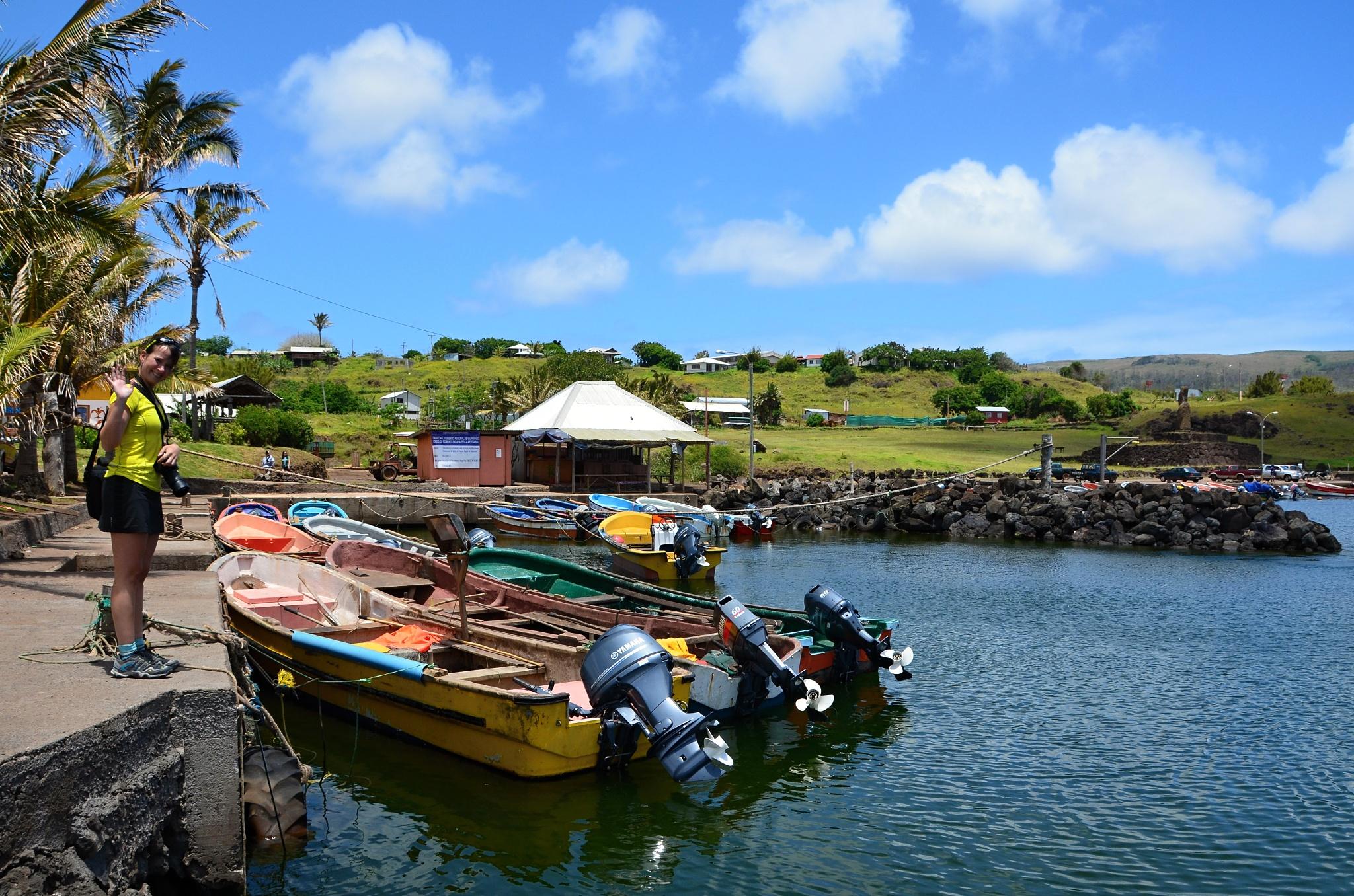 Malý místní přístav