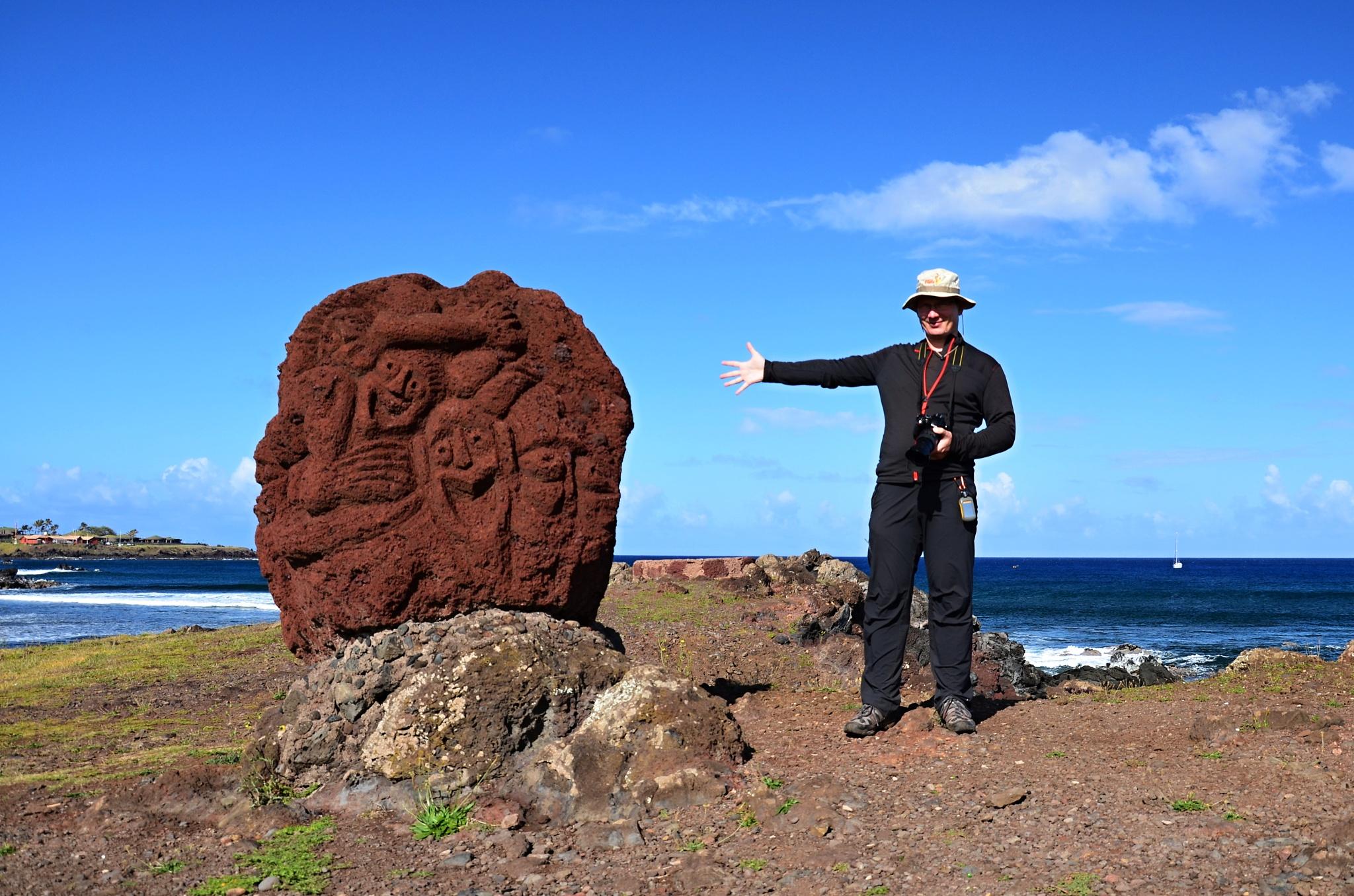 Já a moderní umění na Velikonočním ostrově