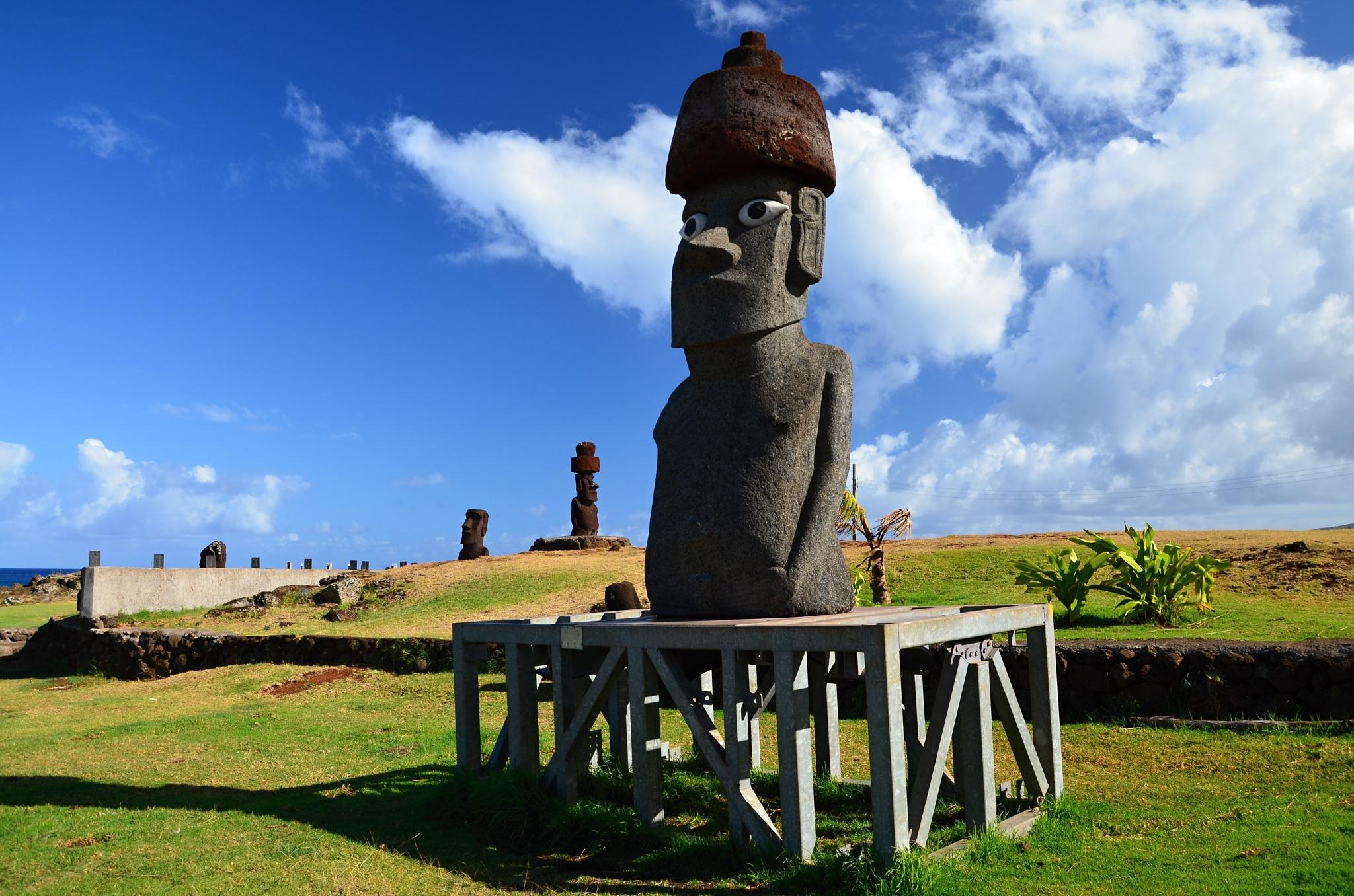 Moderní Moai