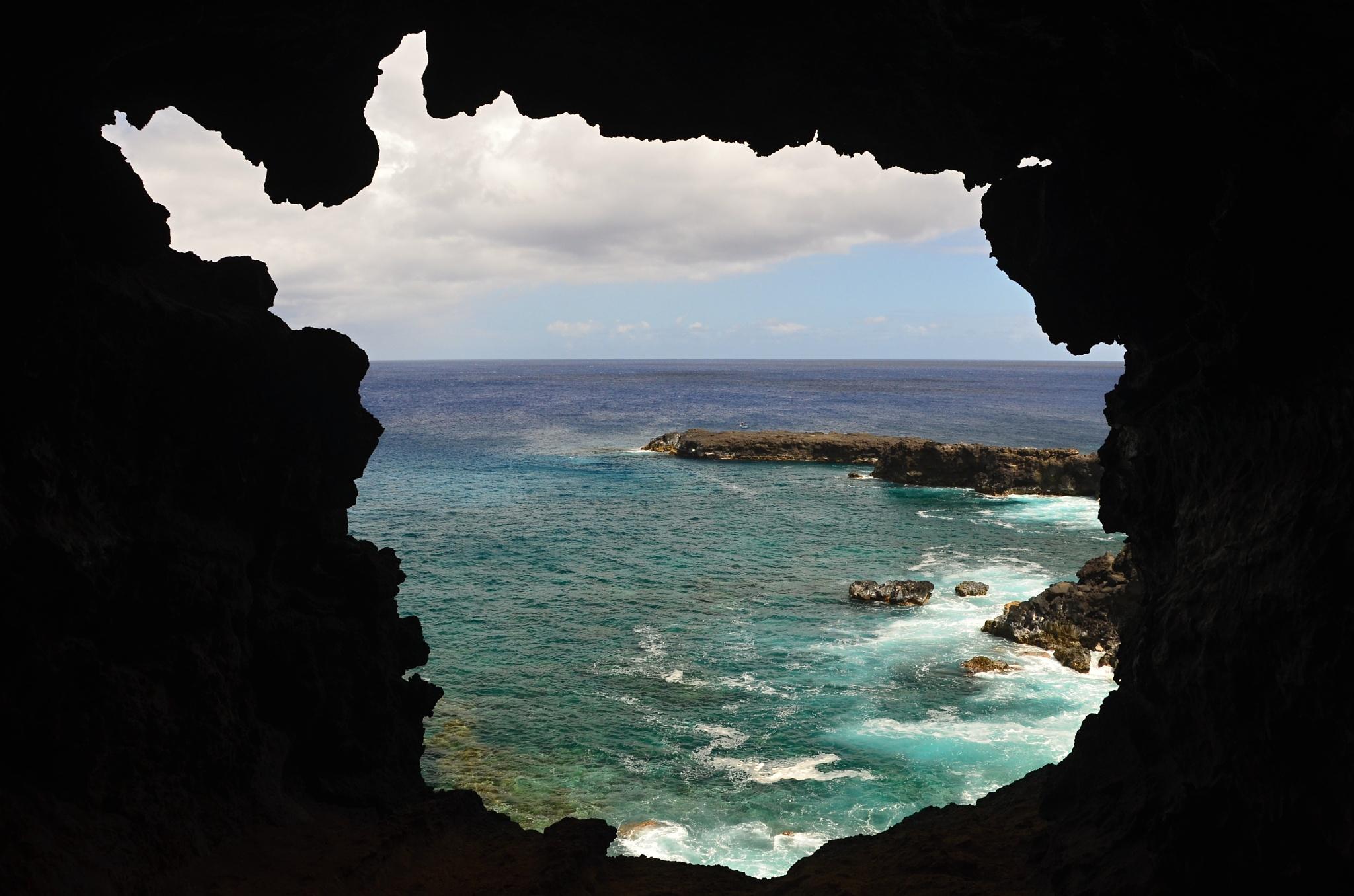 První okno s výhledem na moře...