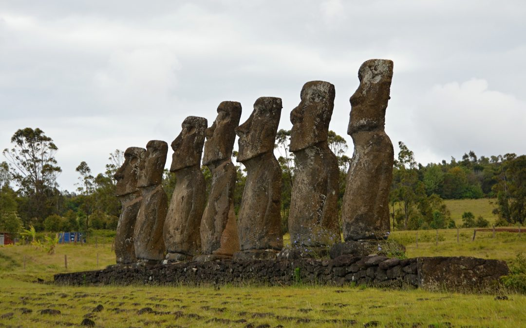 Za sochami Moai kolem Velikonočního ostrova (malý okruh)