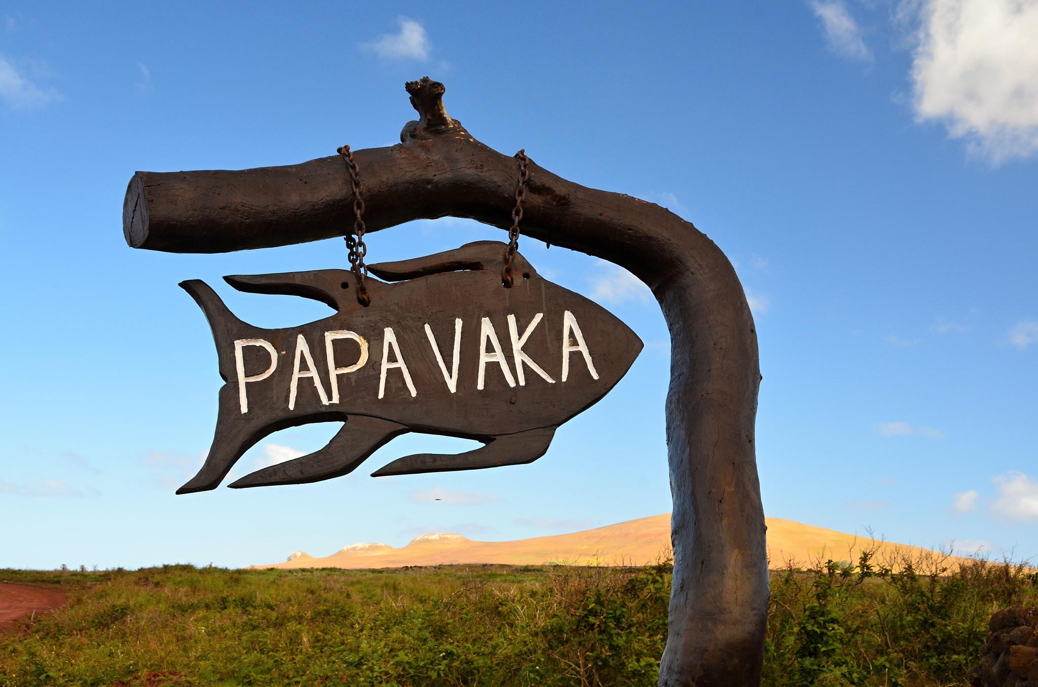 Posvátné místo Papa Vaka plné petroglyfů
