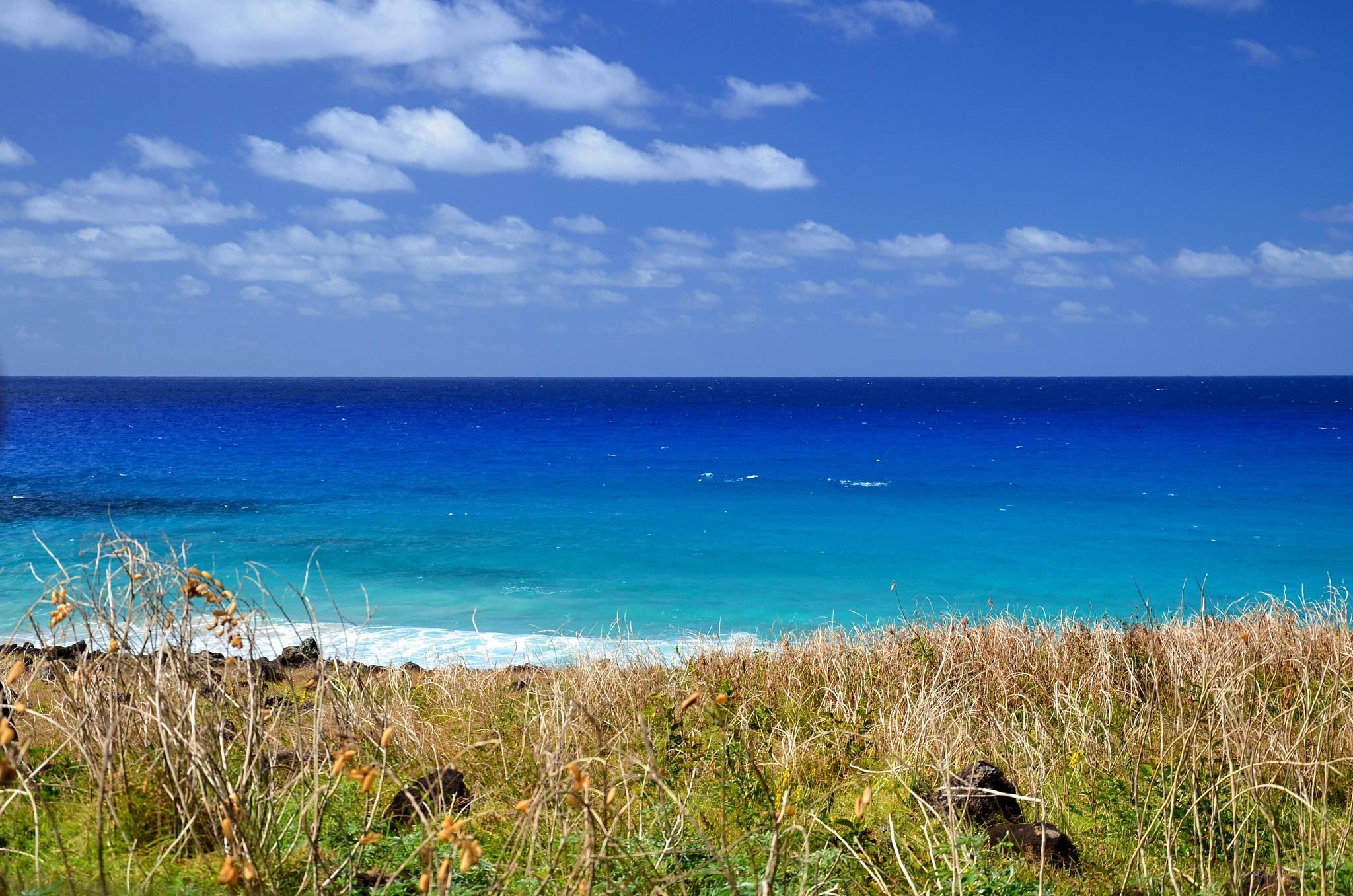 Neskutečně modrý Tichý oceán