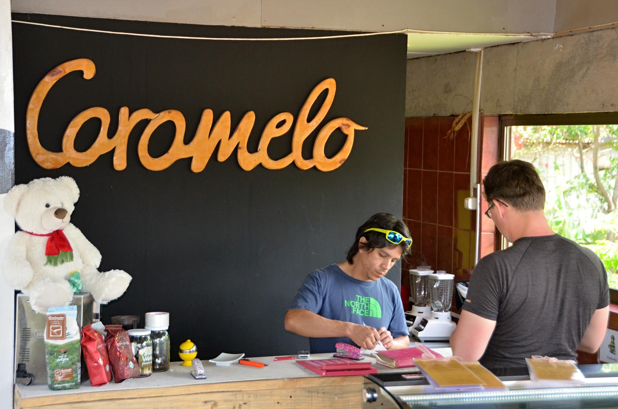 Příjemná kavárna Caramelo