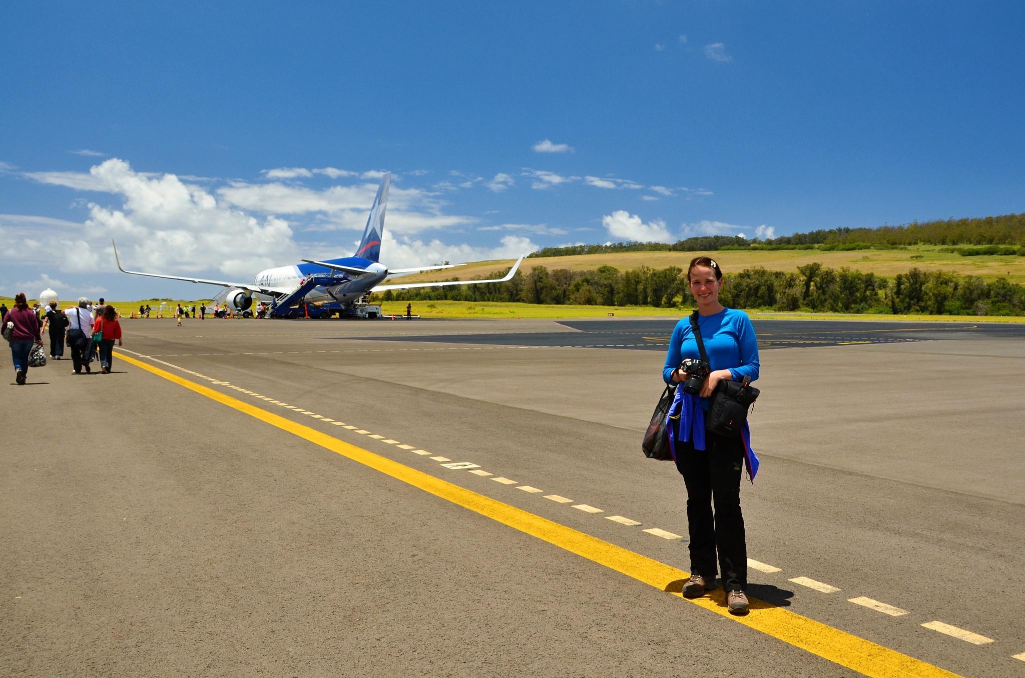 Hanka a Boeing B767