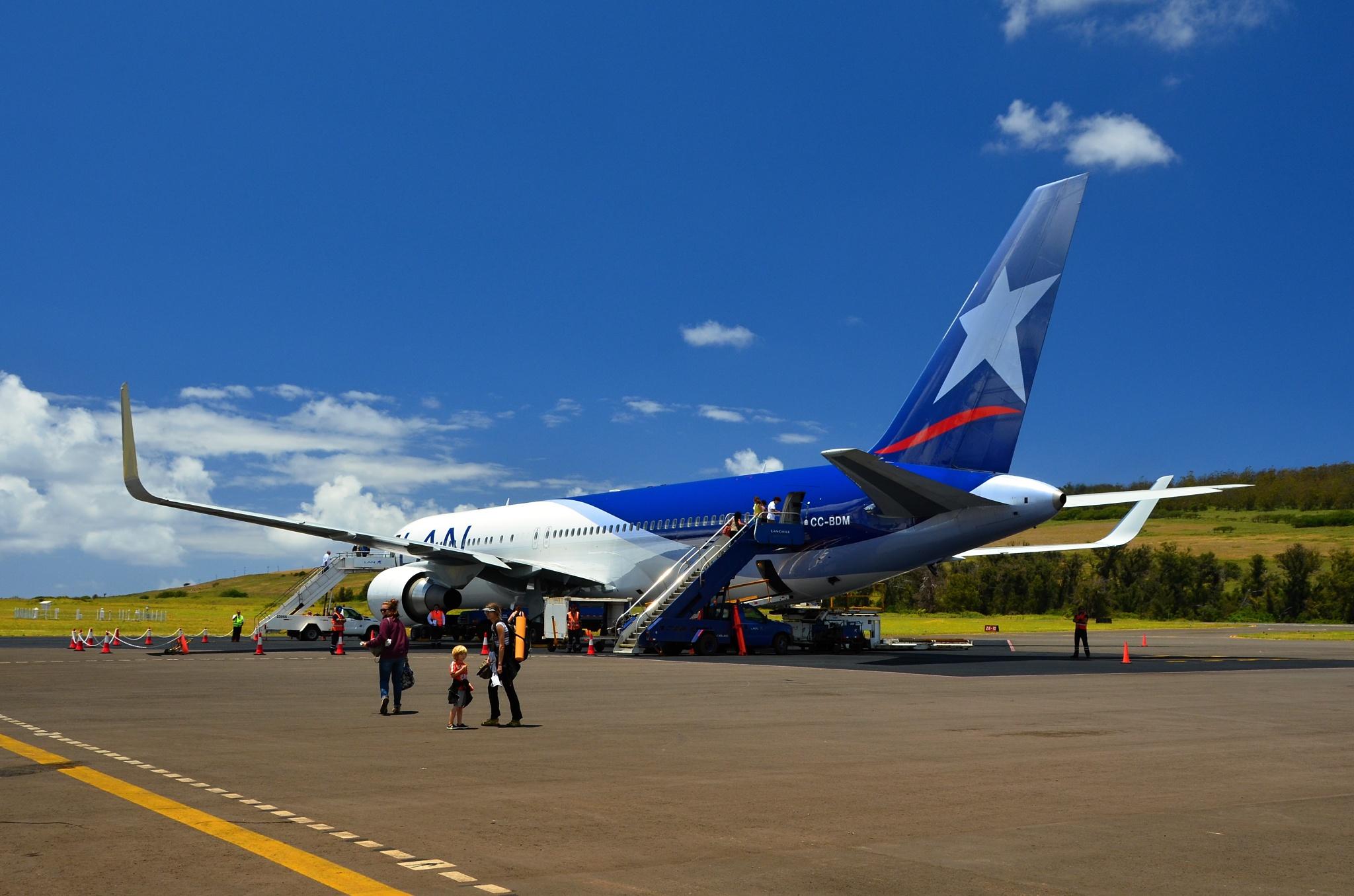 Letadlo Boeing B767 v celé své kráse
