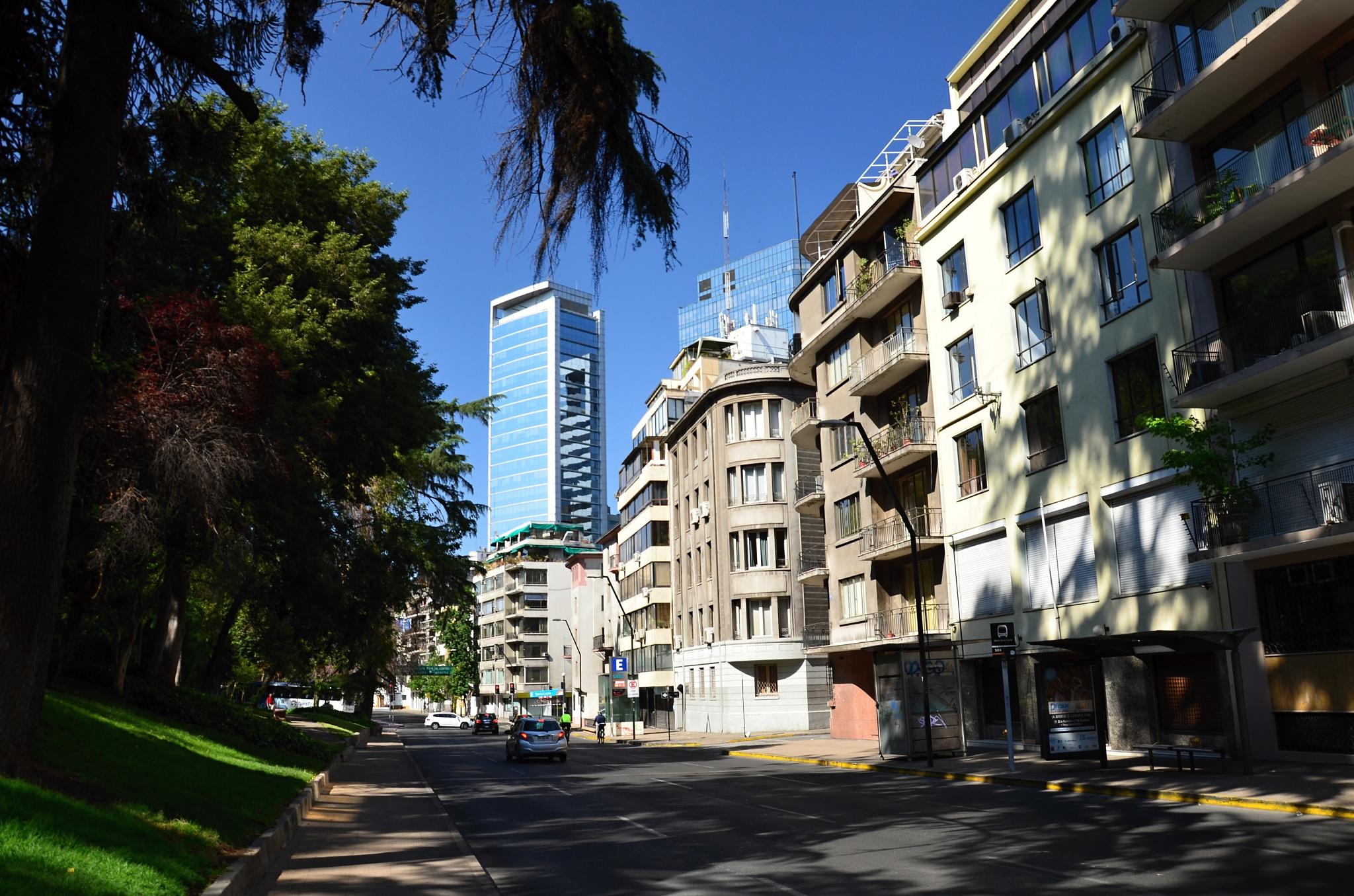 Ulice v těsném sousedství našeho hotelu