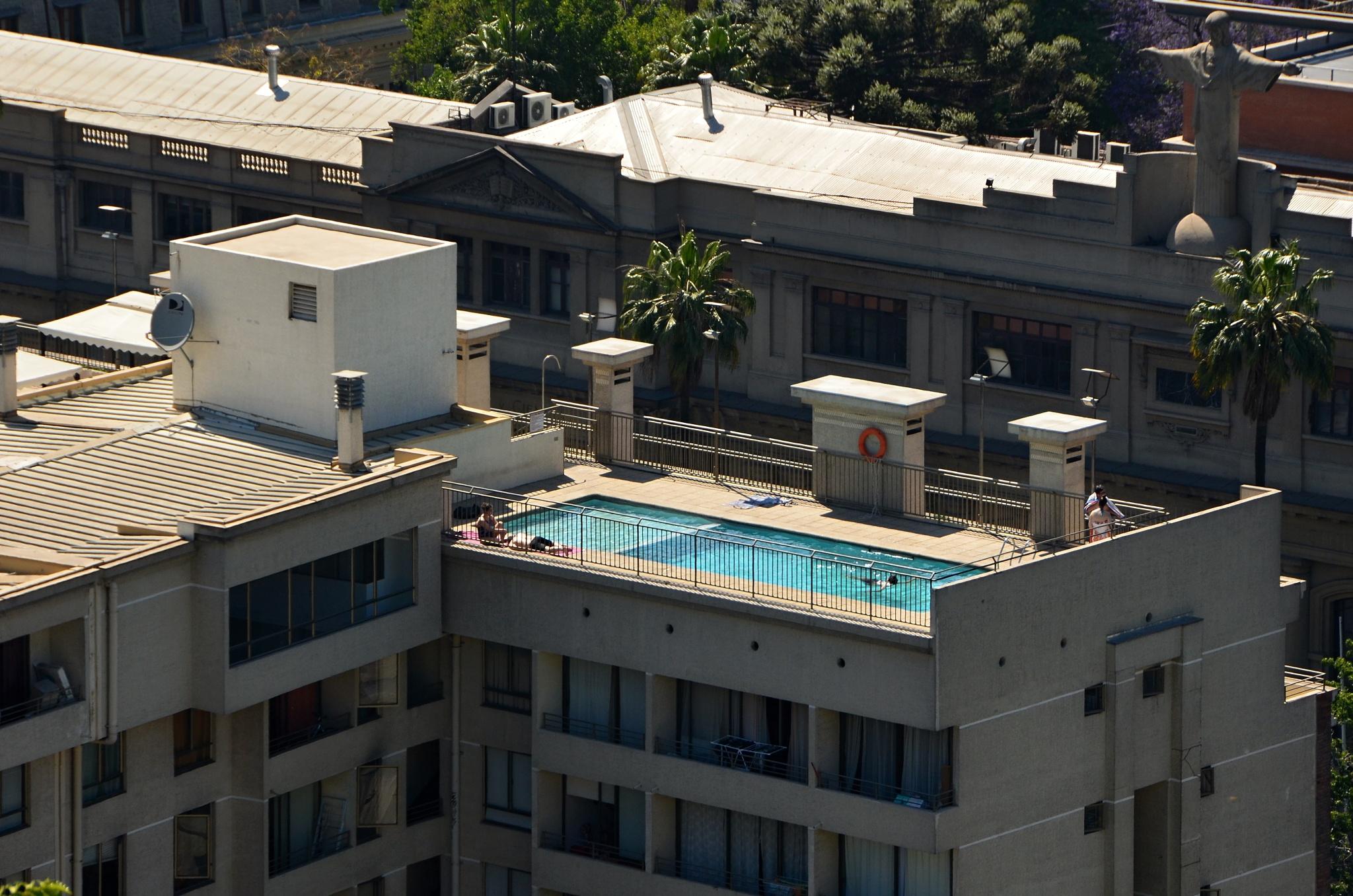 Takový bazének by se nám v dnešním hodně horkém dni hodil