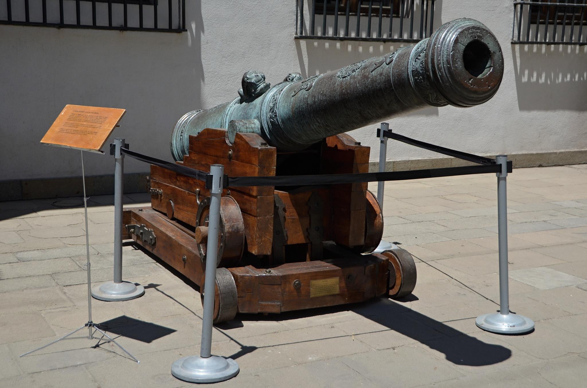 Velký bronzový kanón z roku 1771