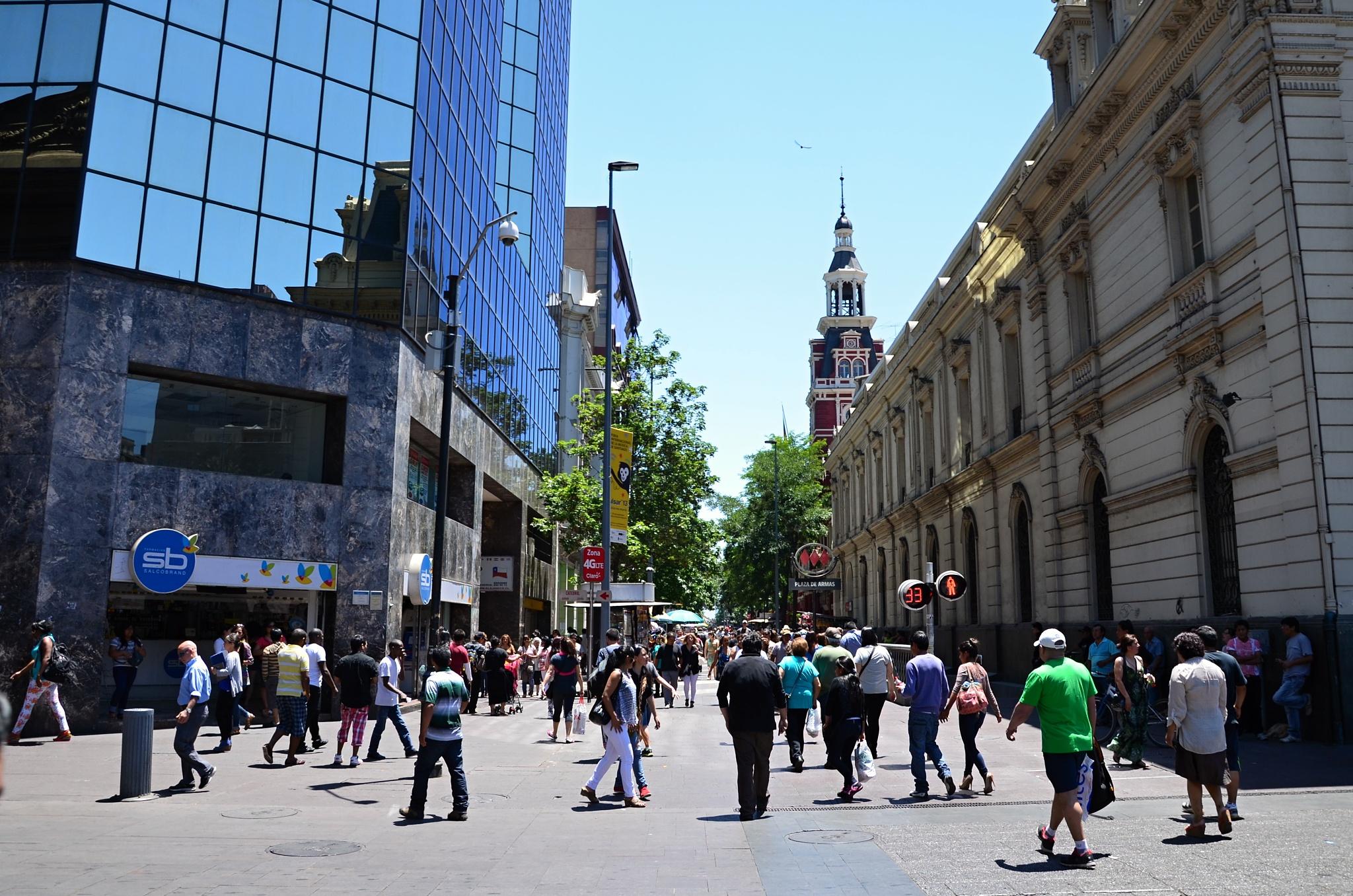 Blížíme se k náměstí Plaza de Armas