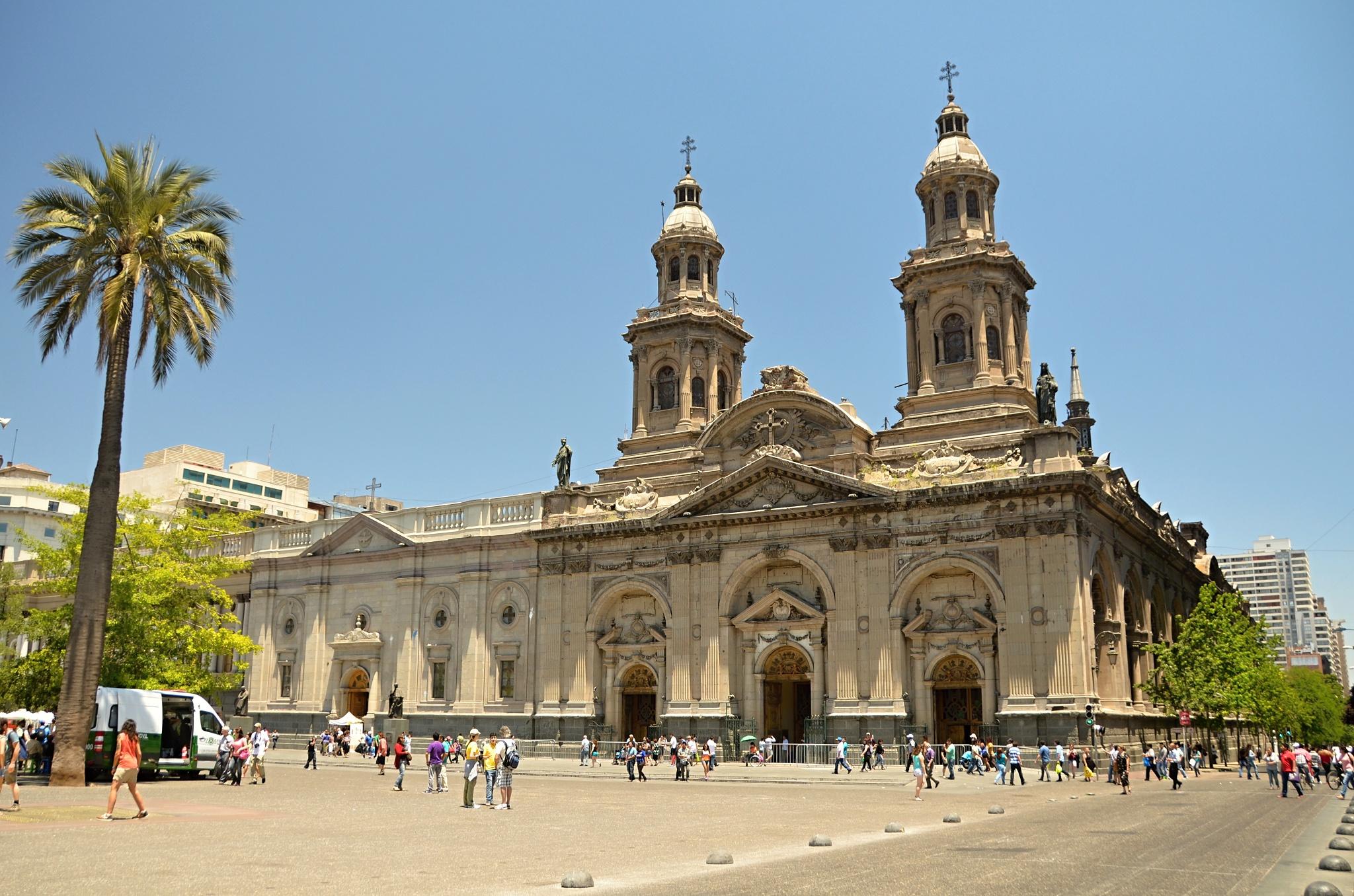 Metropolitní katedrála v Santiagu