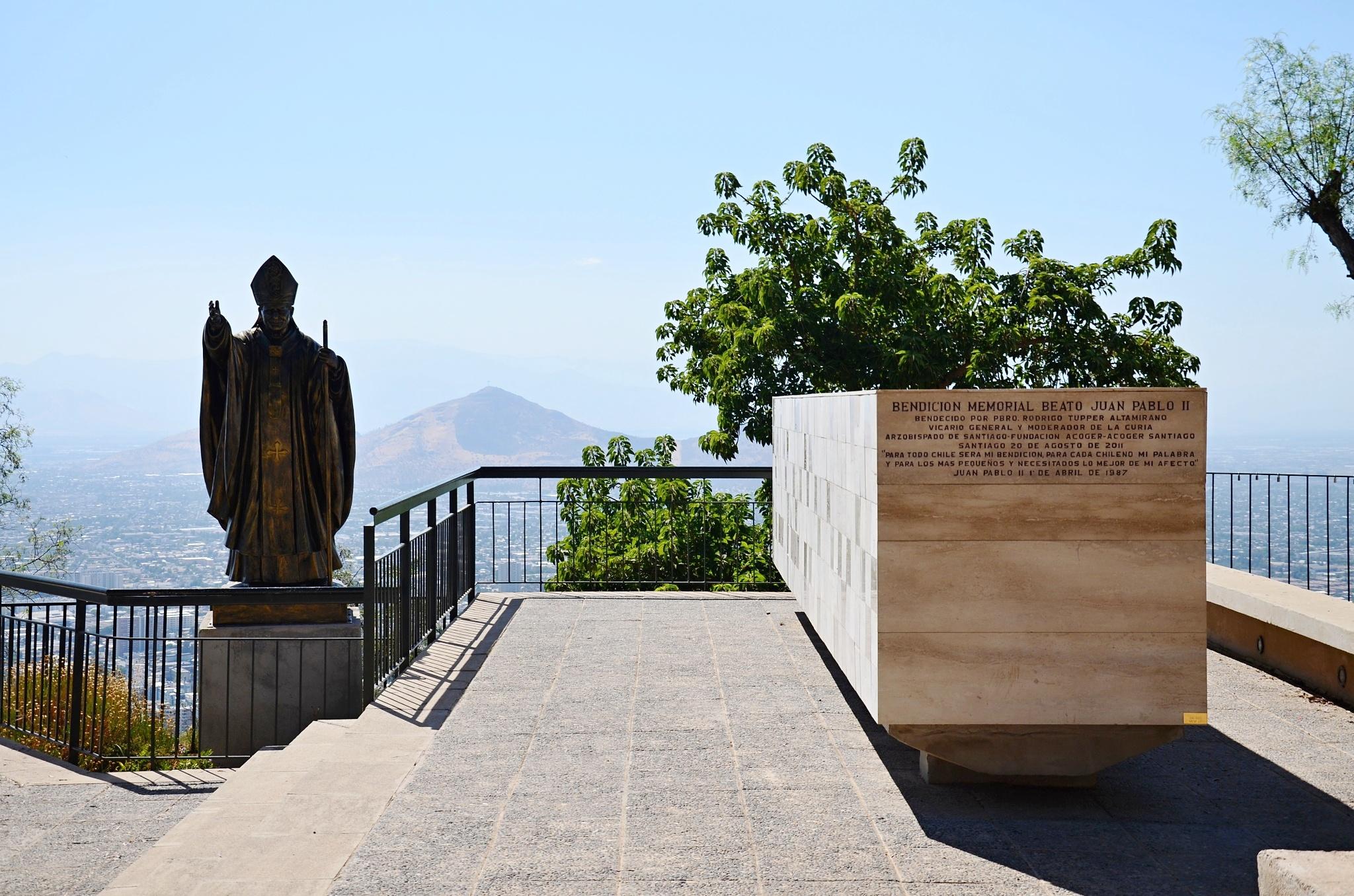 Památník věnovaný papeži Janu Pavlu II.