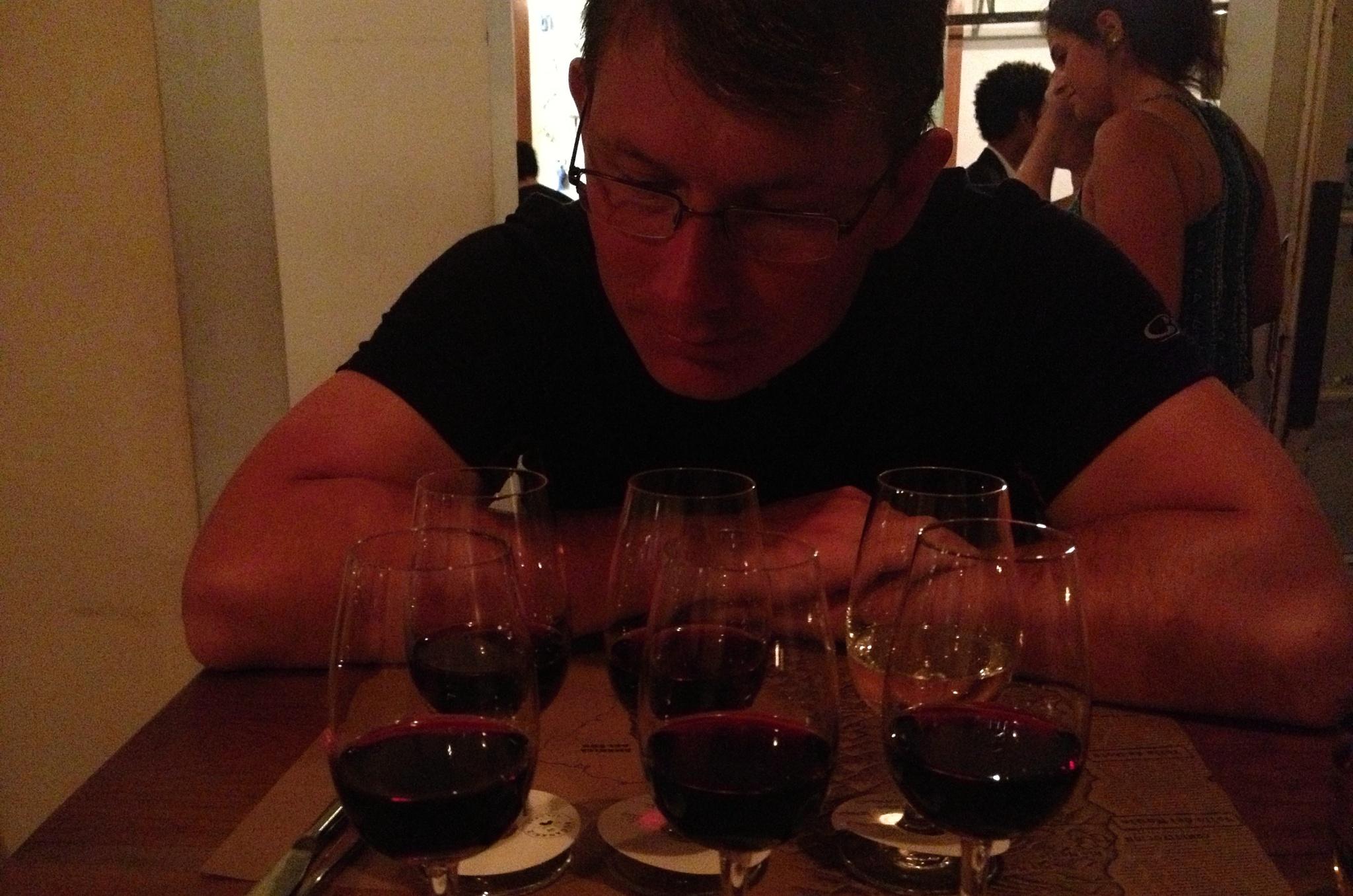 Součástí večeře je i degustace vína