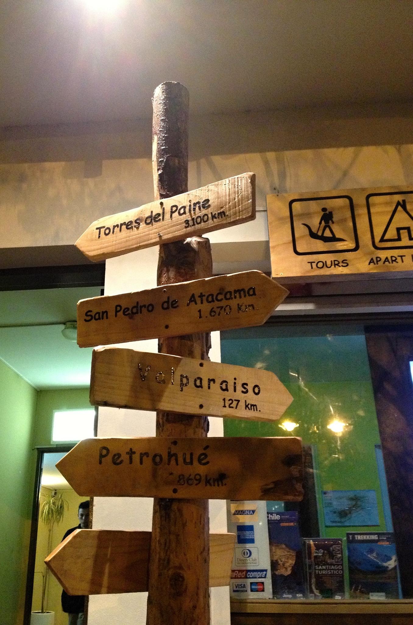 V Chile je to prostě všude daleko