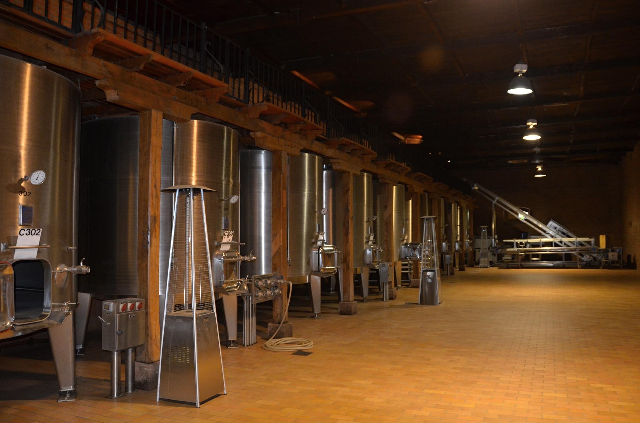 Moderní sudy na víno