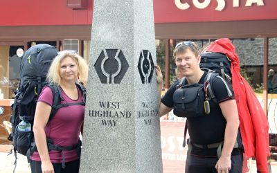 Vyrážíme na trek West Highland Way (Milngavie – Drymen, WHW den 1.)