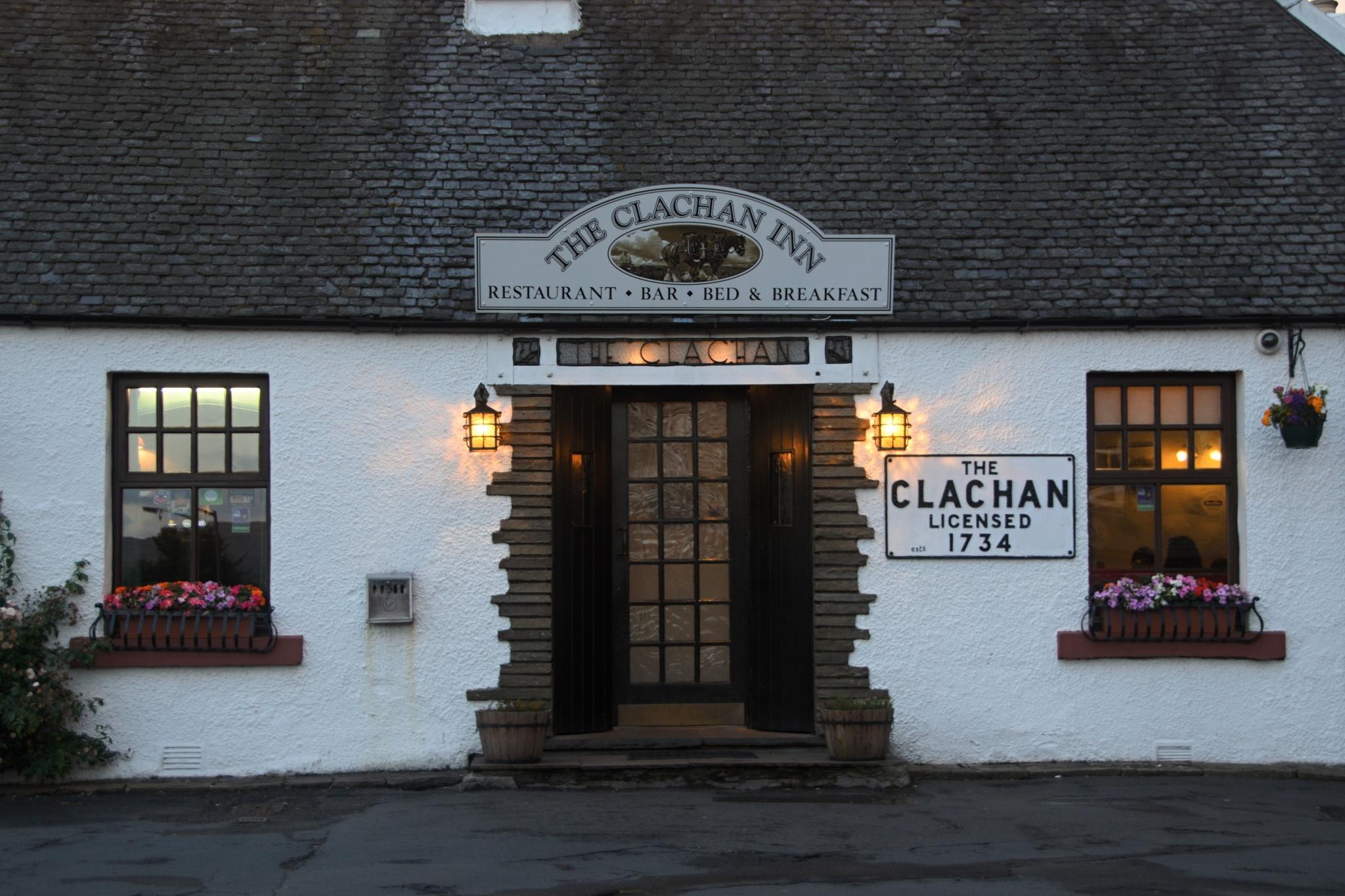 The Clachan Inn. Typická skotská hospoda