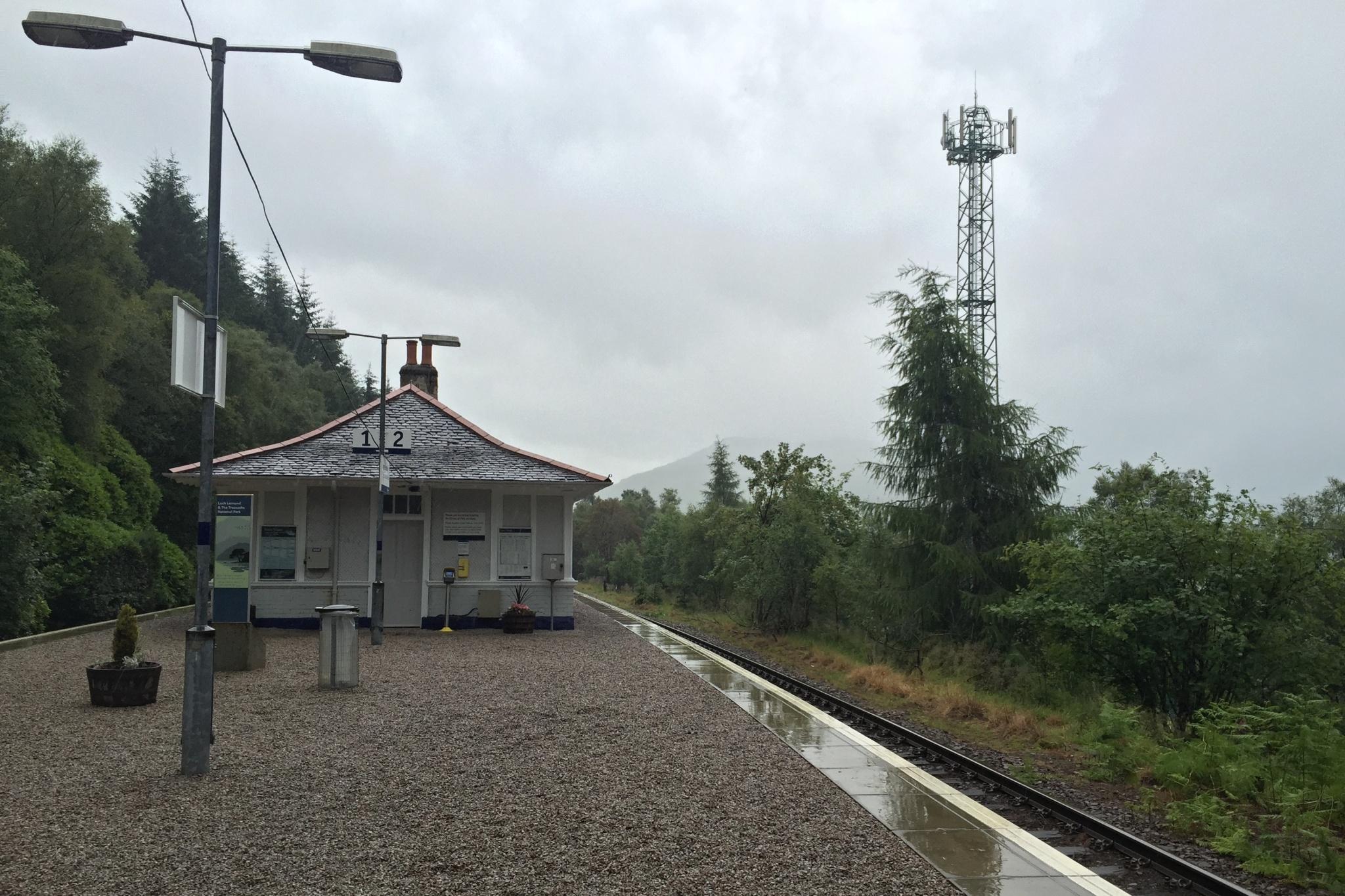 Železniční stanice Tyndrum Upper