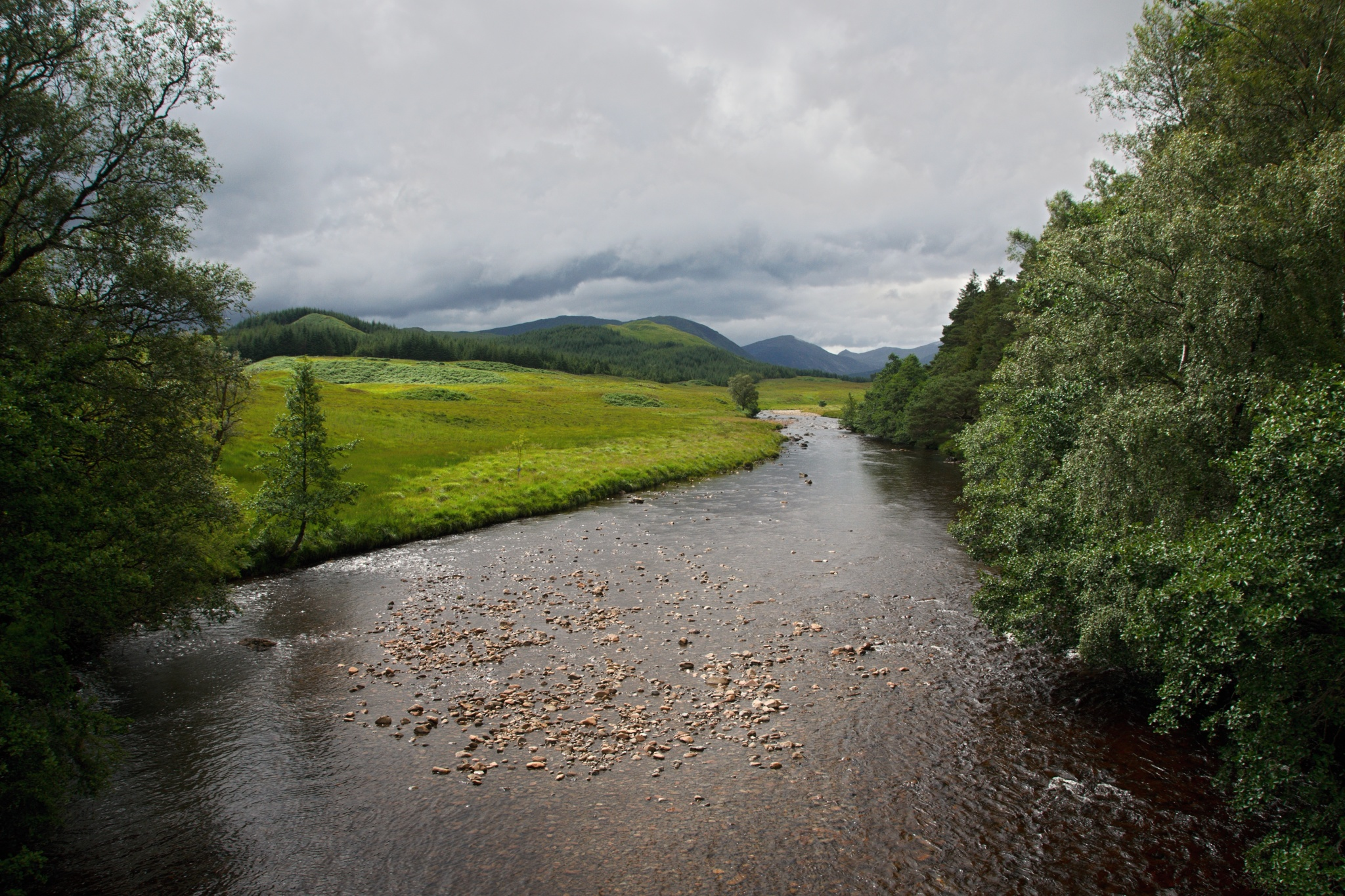 Řeka Abhainn Shira