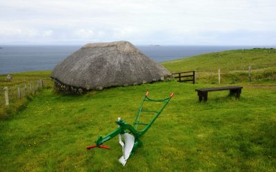 Výlet na sever do Muzea života na Skye  (Duntulm, Isle of Skye den 2.)