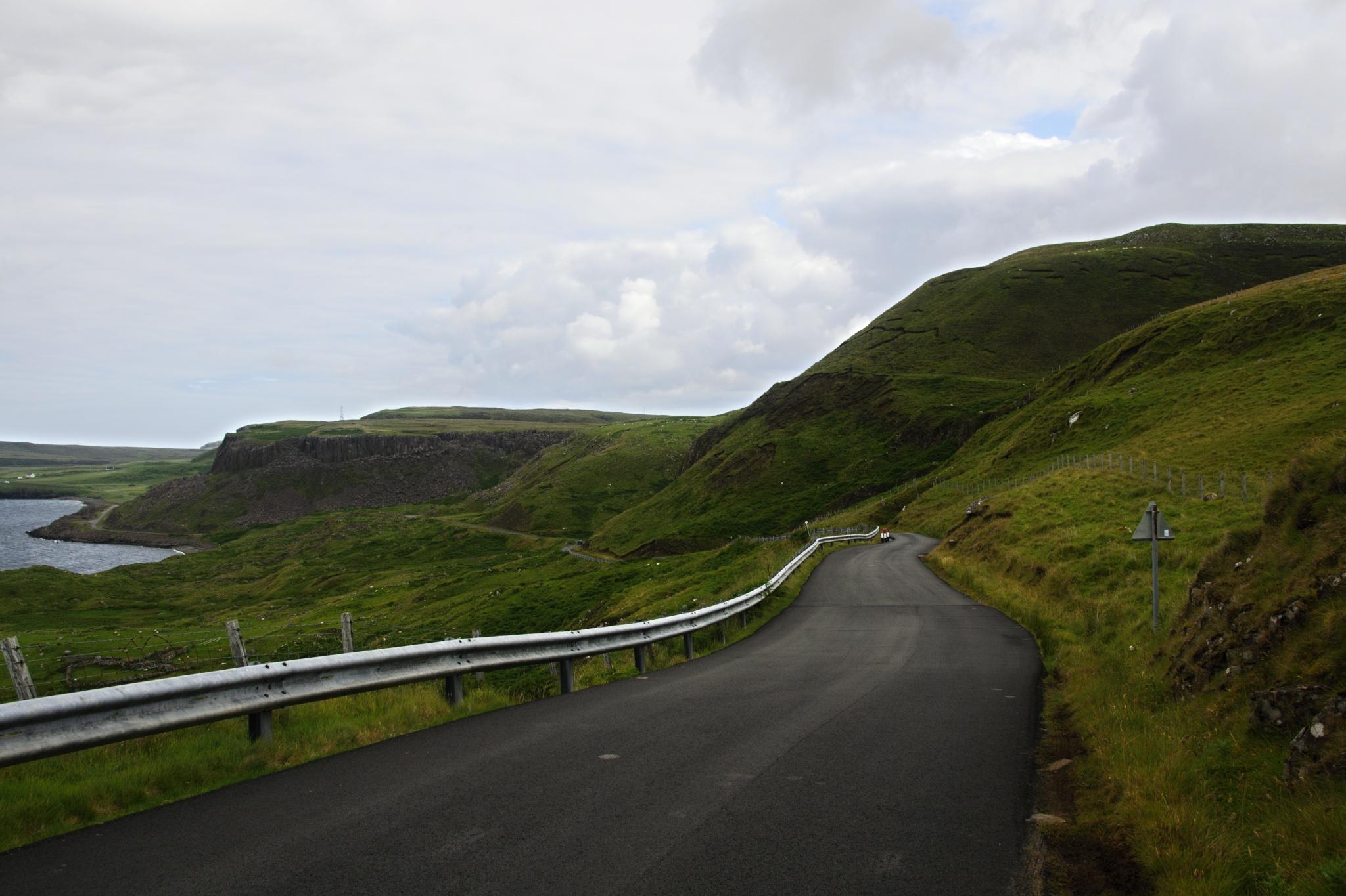 Silnice na ostrově Skye