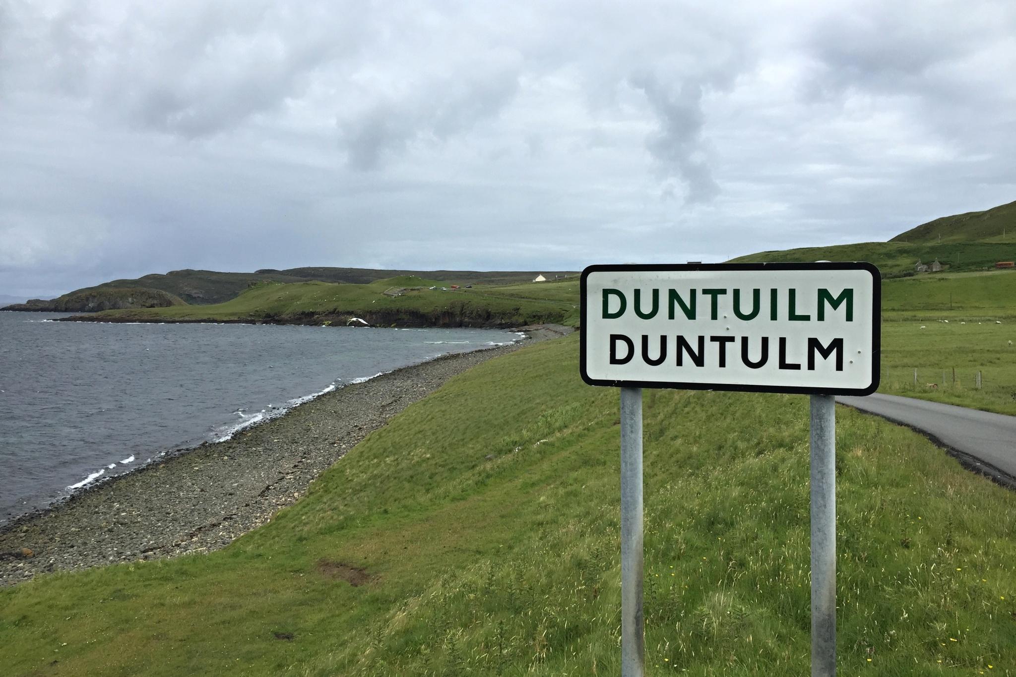 Vesnice Duntulm