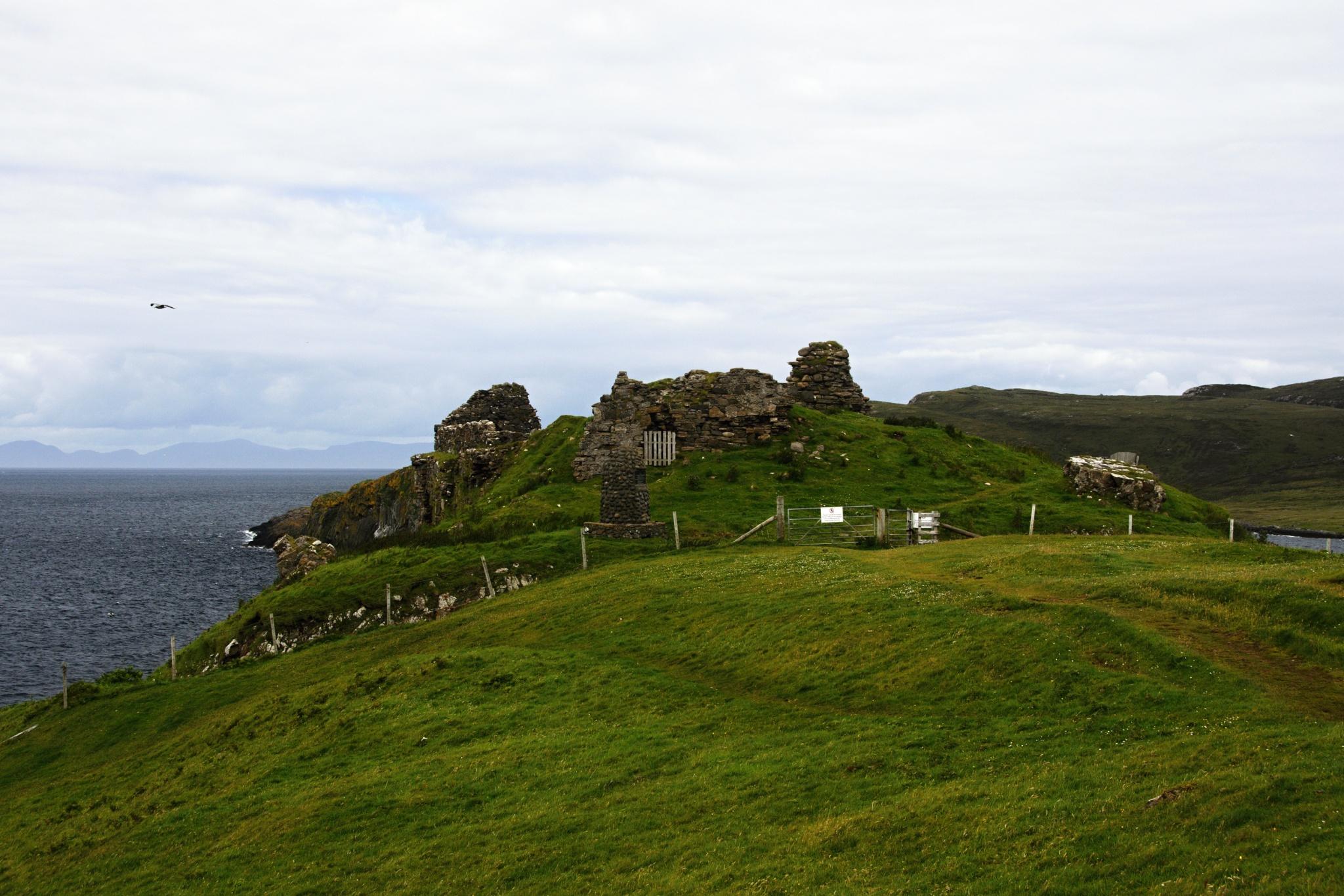 Zřícenina hradu Duntulm