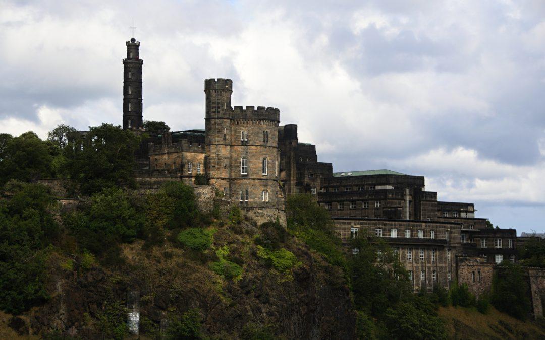 Příjezd do Edinburghu a procházka po městě