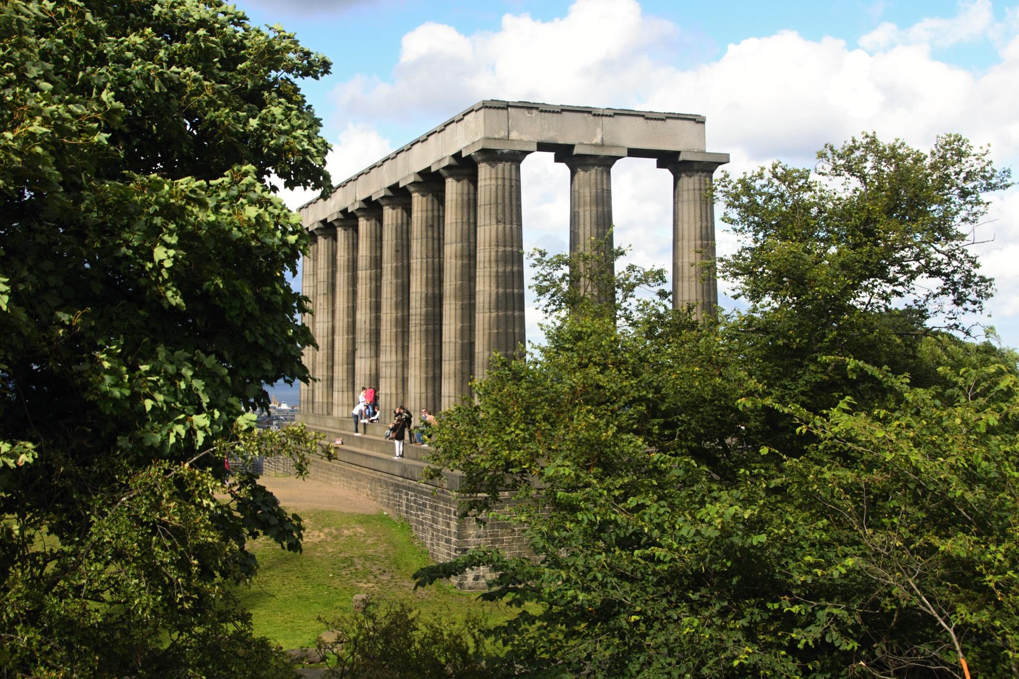 Národní Skotský památník věnovaný všem padlým vojákům v Napoleonských válkách
