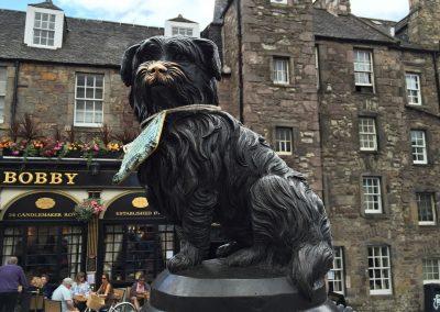 Greyfriars Bobby, věrný pejsek, který si zasloužil i sochu