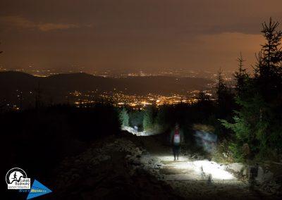 Máme za sebou Lysou horu, sestupujeme do Ostravice
