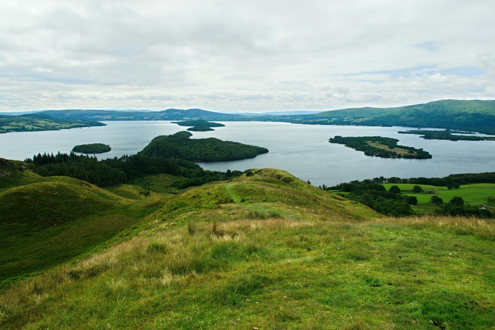 Výhled na Loch Lomond