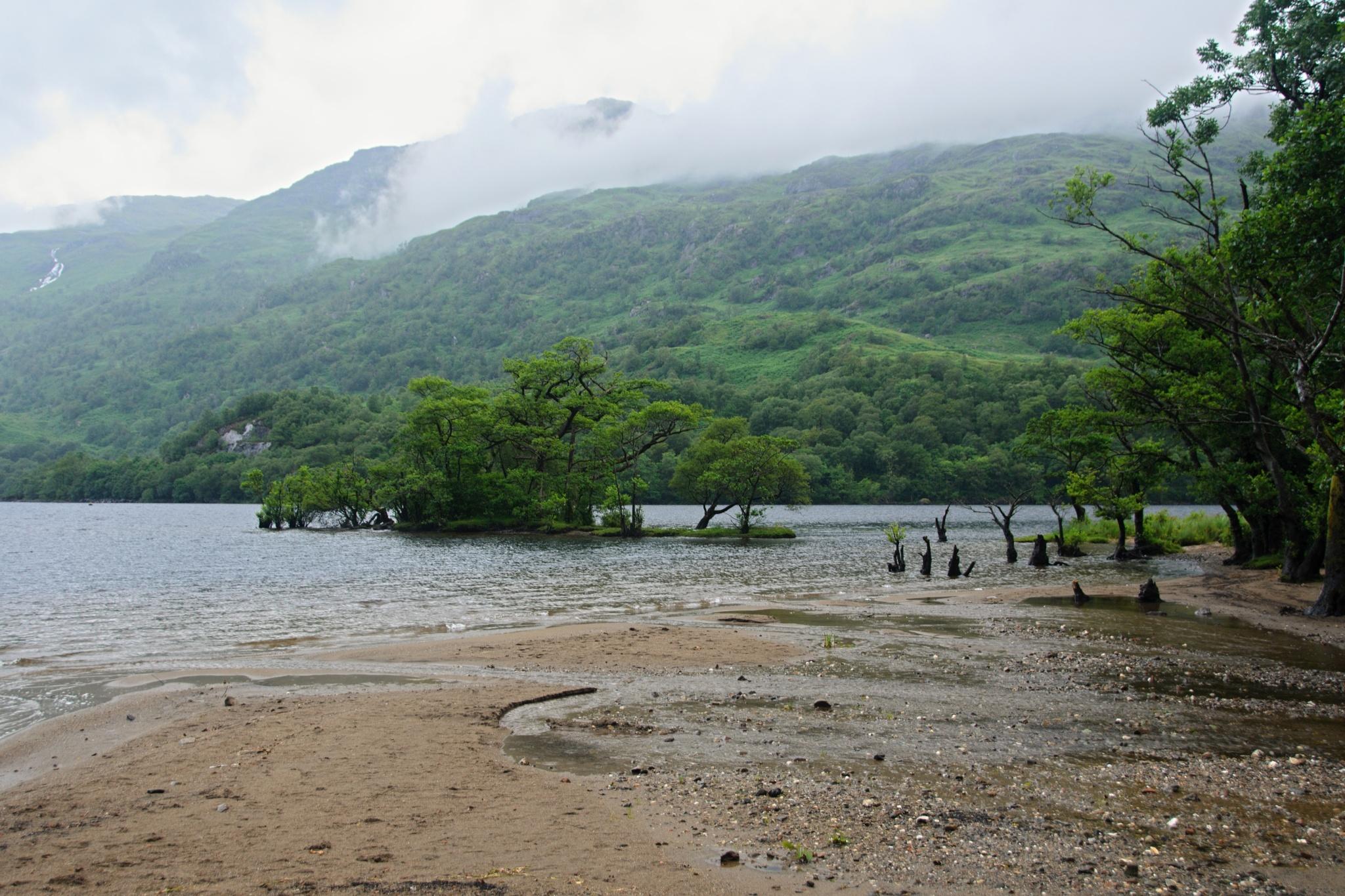 Jezero Loch Lomond končí (tedy prozatím)