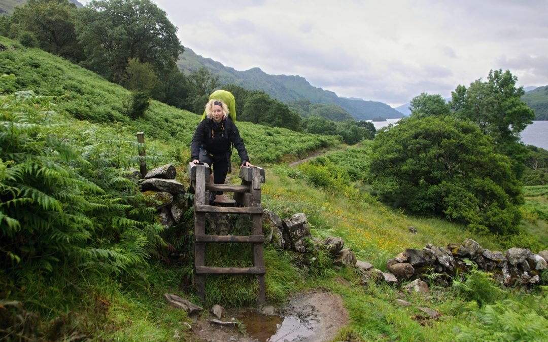 Ovce, krávy a rozmary počasí (Doune Bothy – Tyndrum, WHW den 4.)