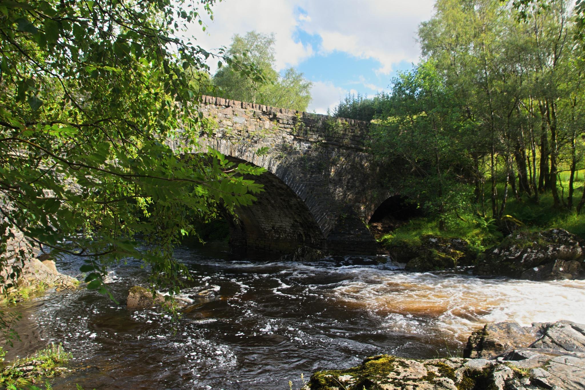 Most přes řeku Fillan