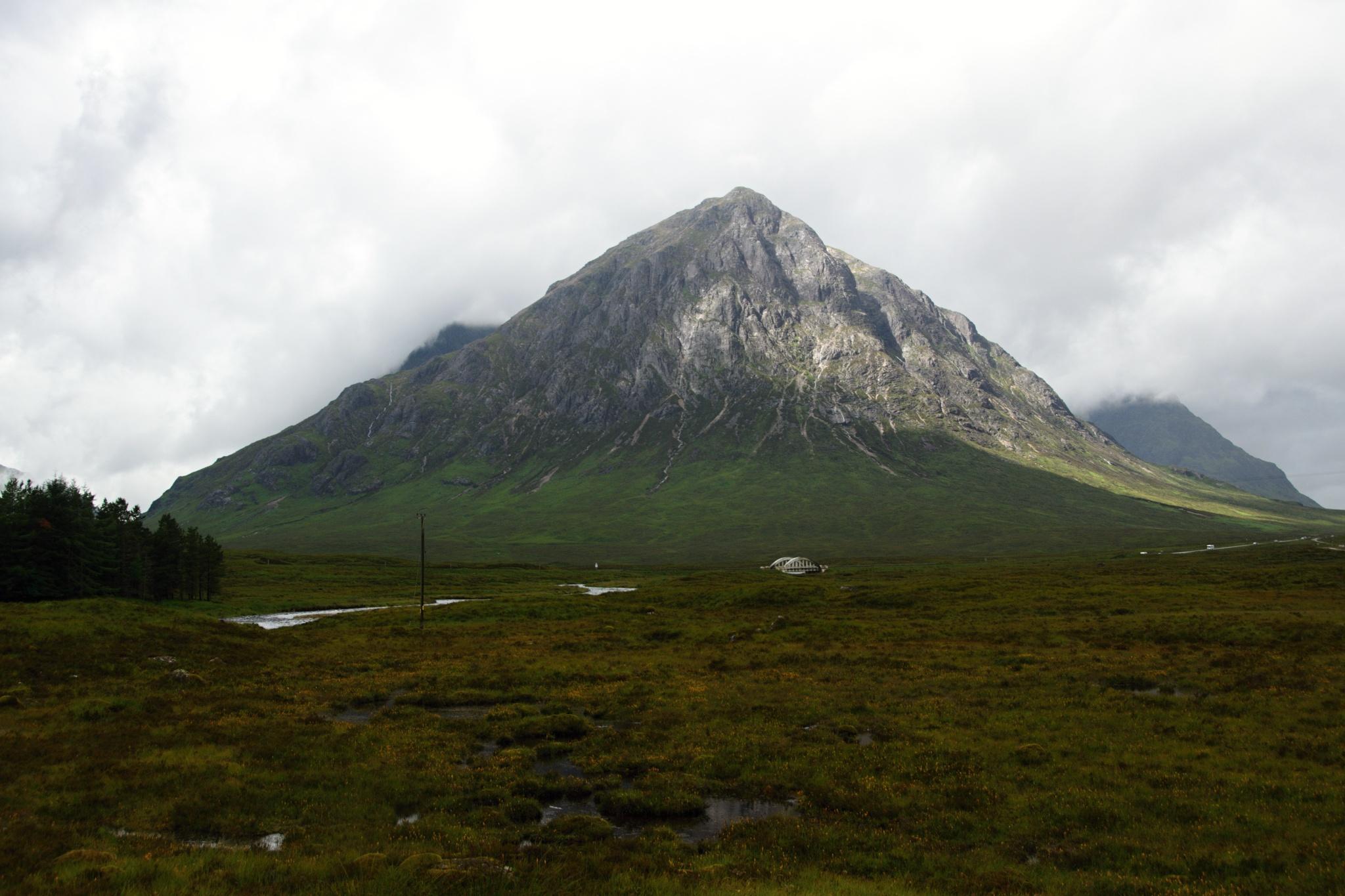Špičatý kopec Stob Dearg
