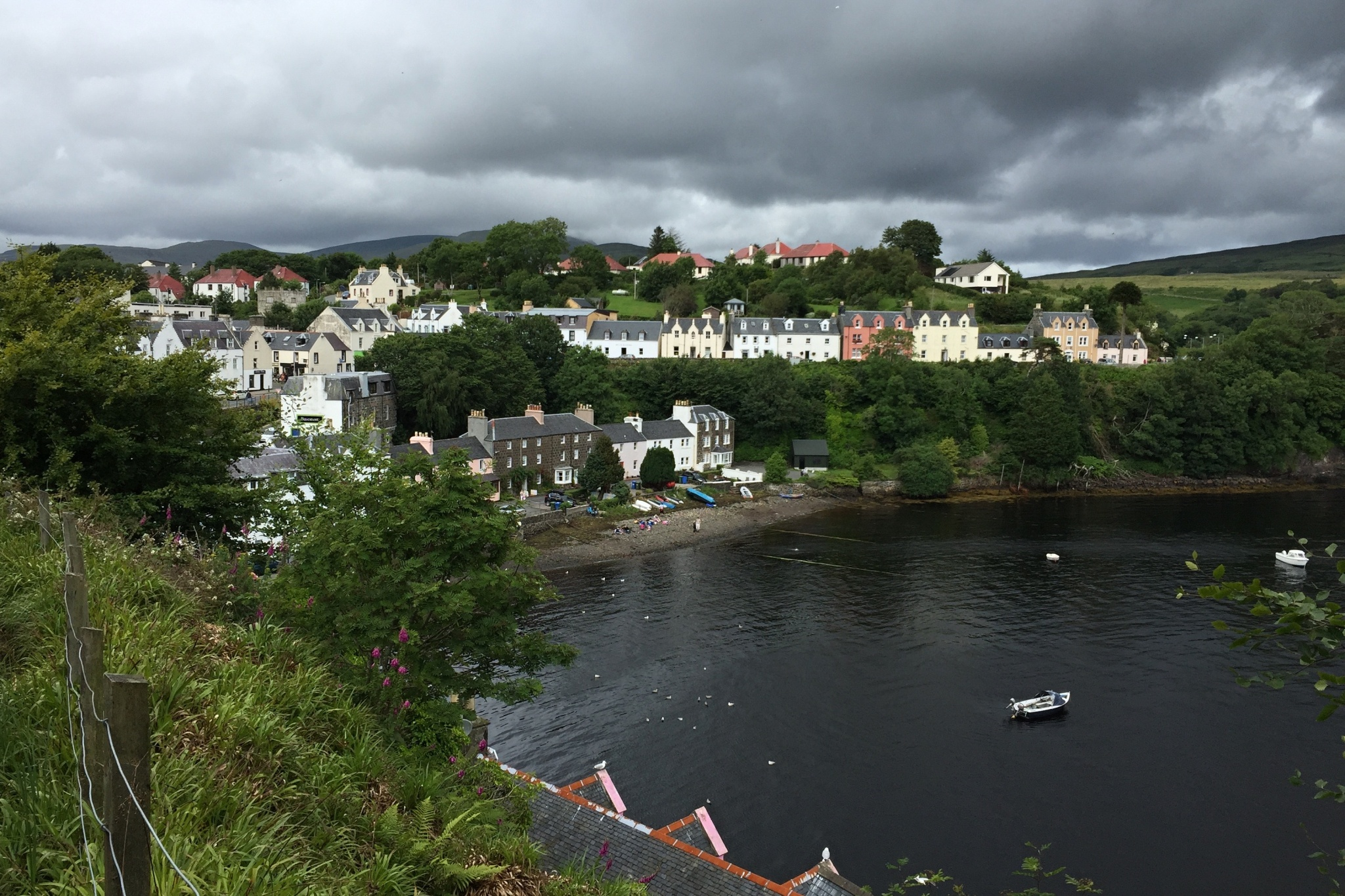 Pohled na Portree