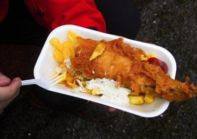 Luxusní fish & chips