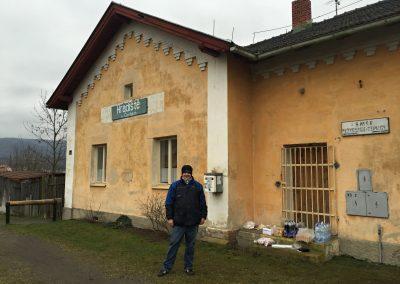 Tajná kontrola na nádraží v Hradišti