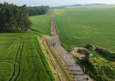 Výhled do daleka (a na další závodníky)