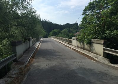 Most přes Berounku u Kalinovy vsi