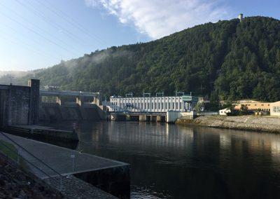 Štěchovická přehrada a elektrárna