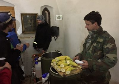Milá obsluha. Škoda, že nejsou banány...:)